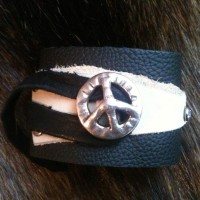 Leather-Wrap-Cuff-with-Peace-Concho