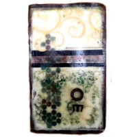 Om Encaustic Painting