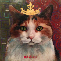 Sallie, the Queen Cat