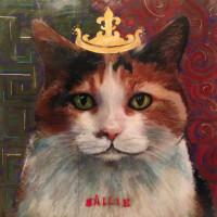 Sallie, the Queen Cat