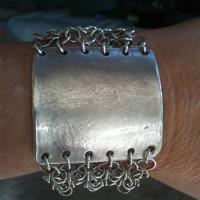 Wide-Silver-Chain-Link-Bracelet-by-Kim-Schulze